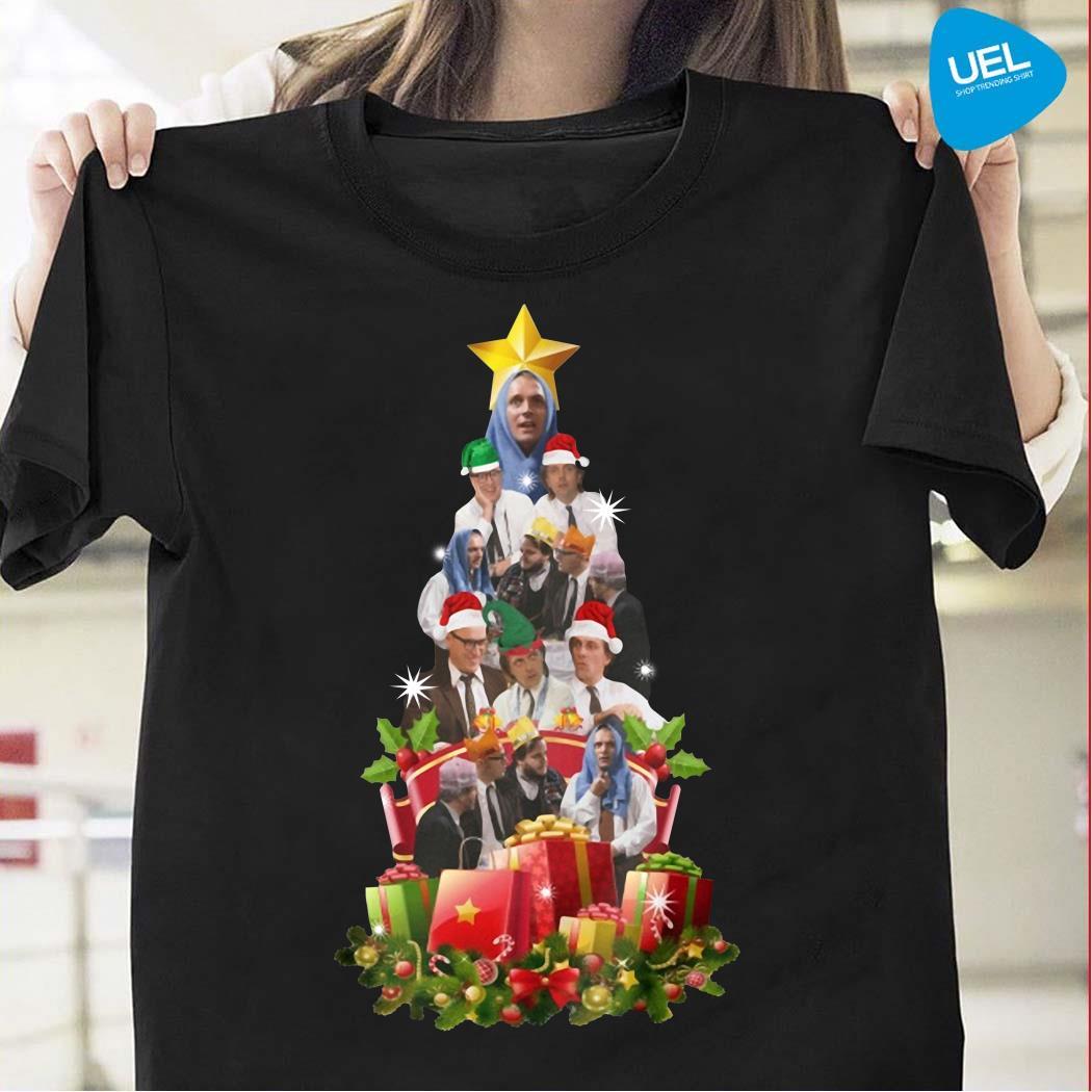 Bottom Holy Christmas tree shirt