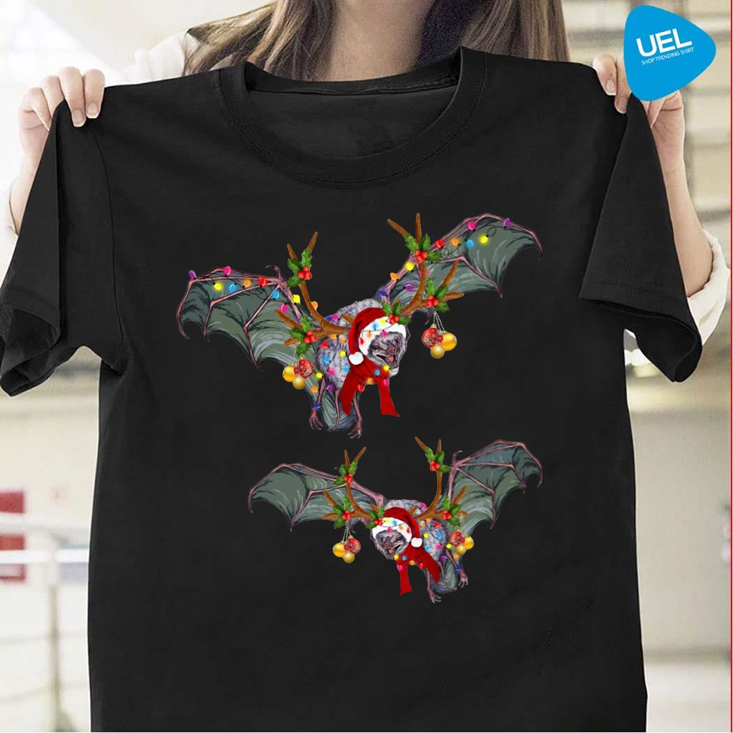 Bat Gorgeous Reindeer Christmas Shirt