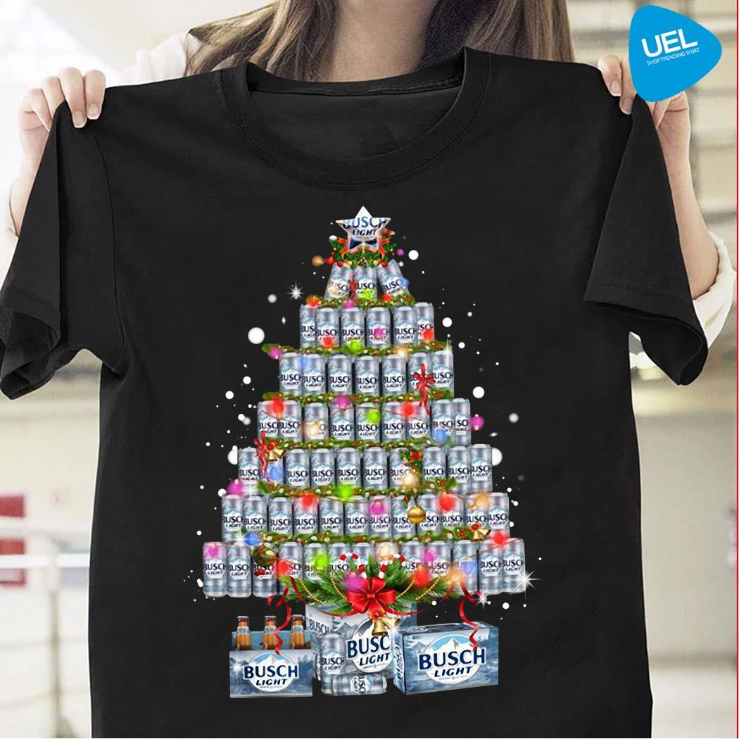 Busch Light Christmas Tree Shirt