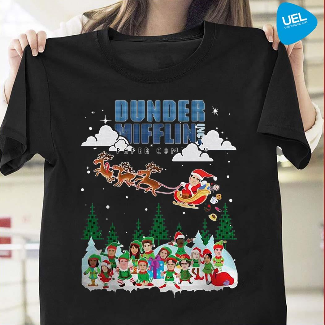 Dunder Mifflin Inc Paper Company Ugly Christmas Sweater