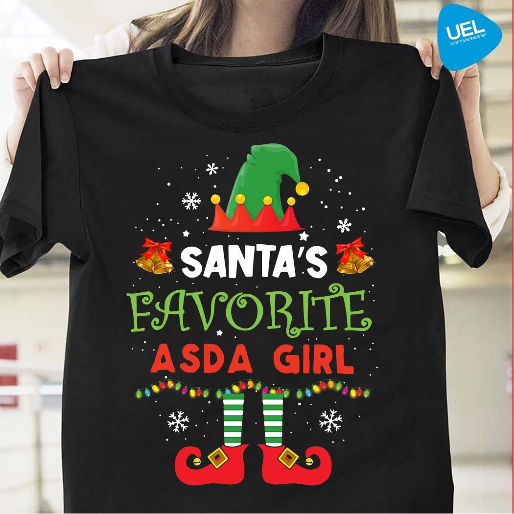 Elf Santa's Favorite ASDA Girl Shirt