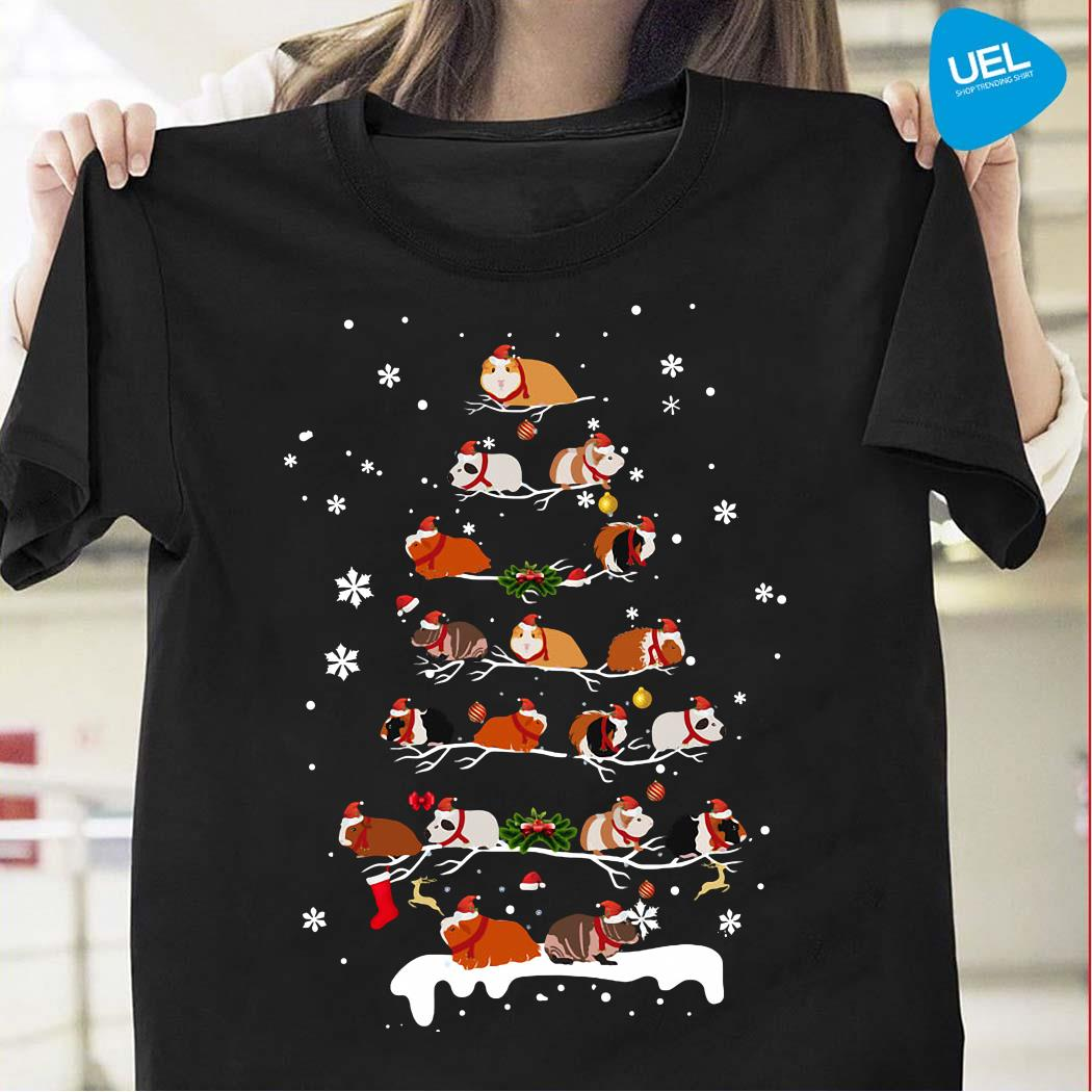 Guinea Pigs Christmas Tree Shirt