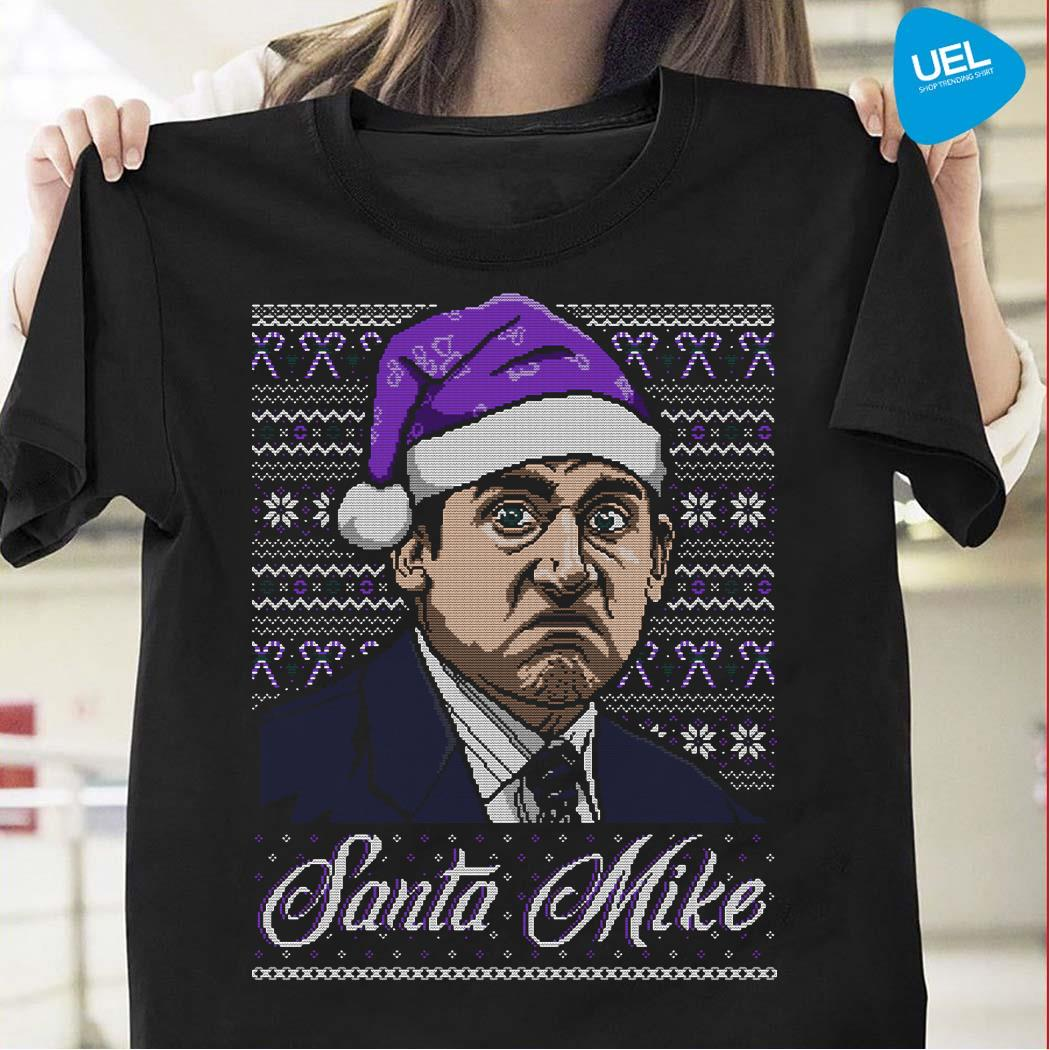 Michael Scott Santa Mike Ugly Christmas Sweater