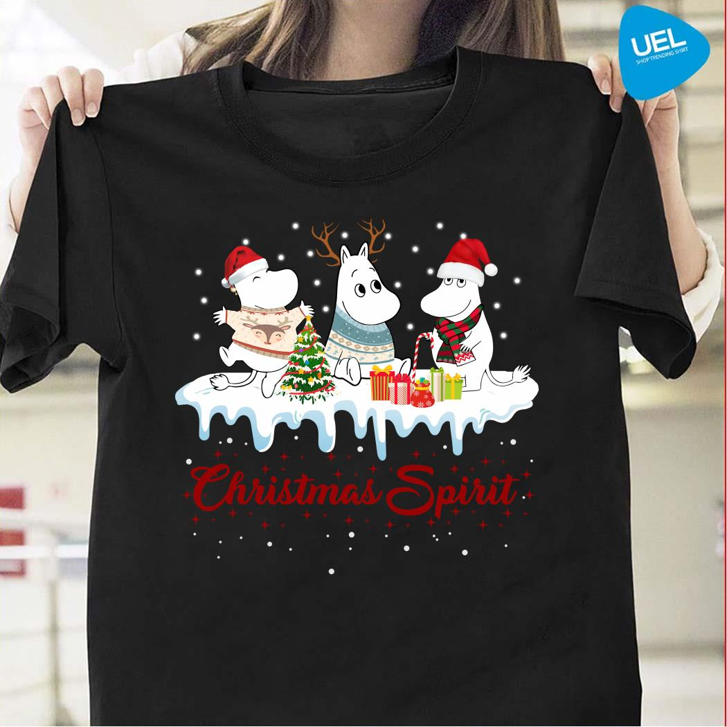 Moomins Christmas Spirit Shirt