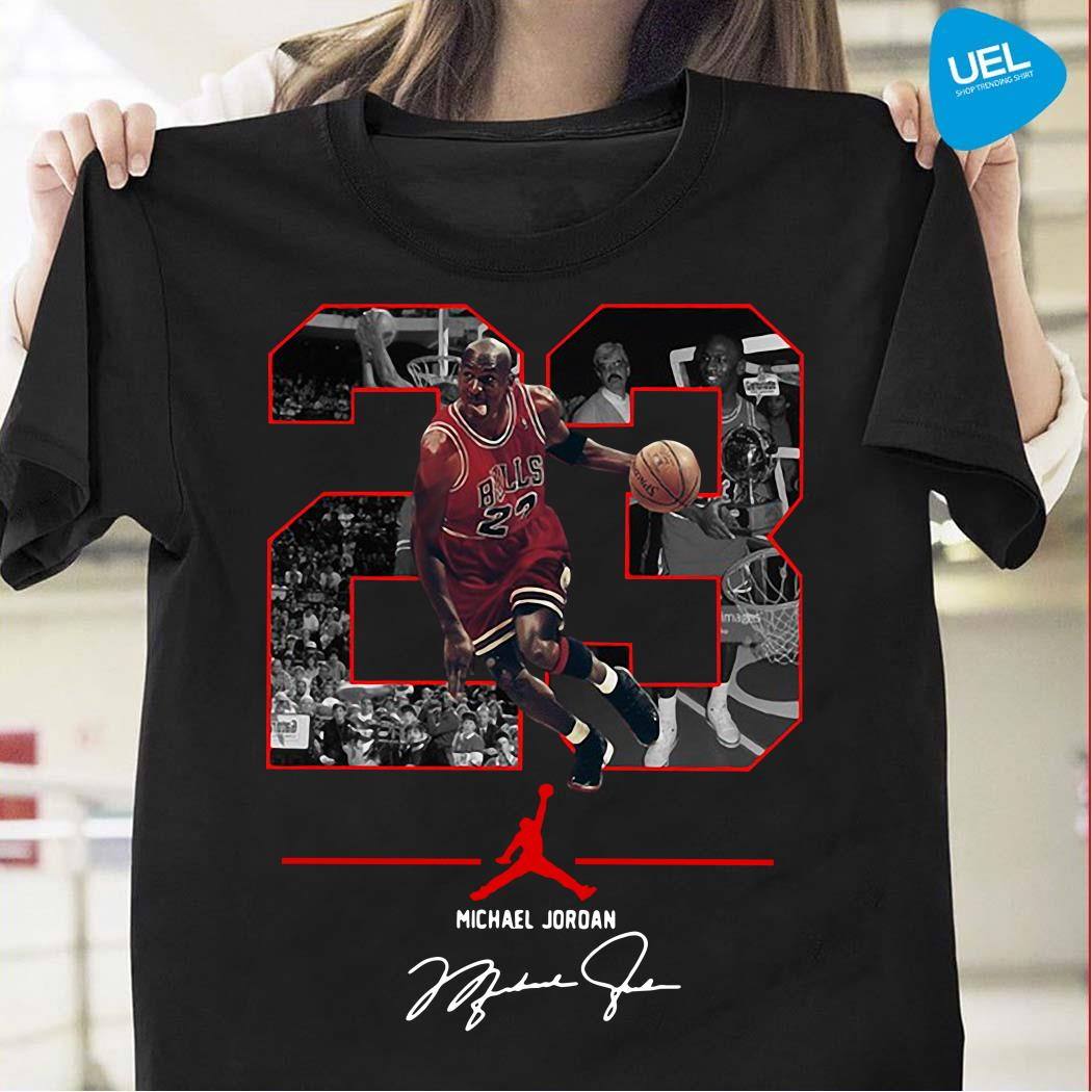 NBA 23 Michael Jordan Signature Shirt
