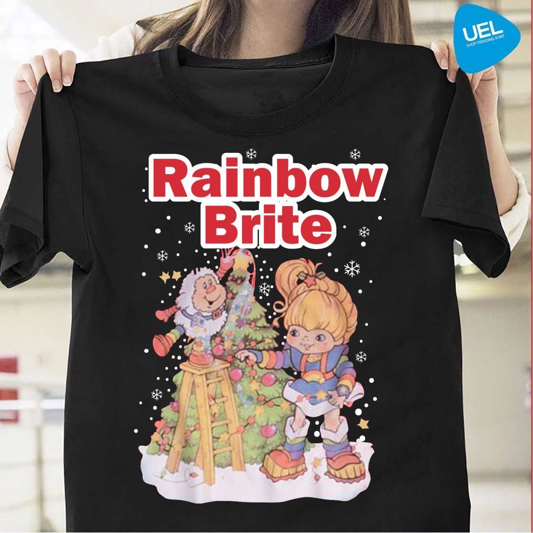Rainbow Brite Christmas Shirt