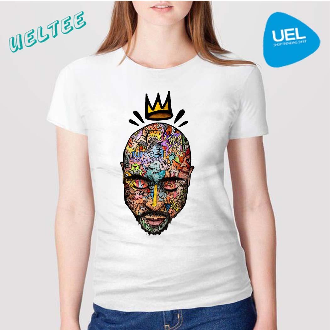 Tupac Trippy Art Shirt