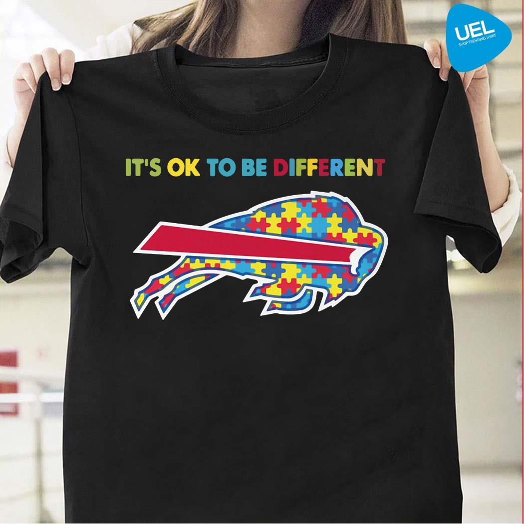 Autism Buffalo Bills It's Ok To Be Different Shirt