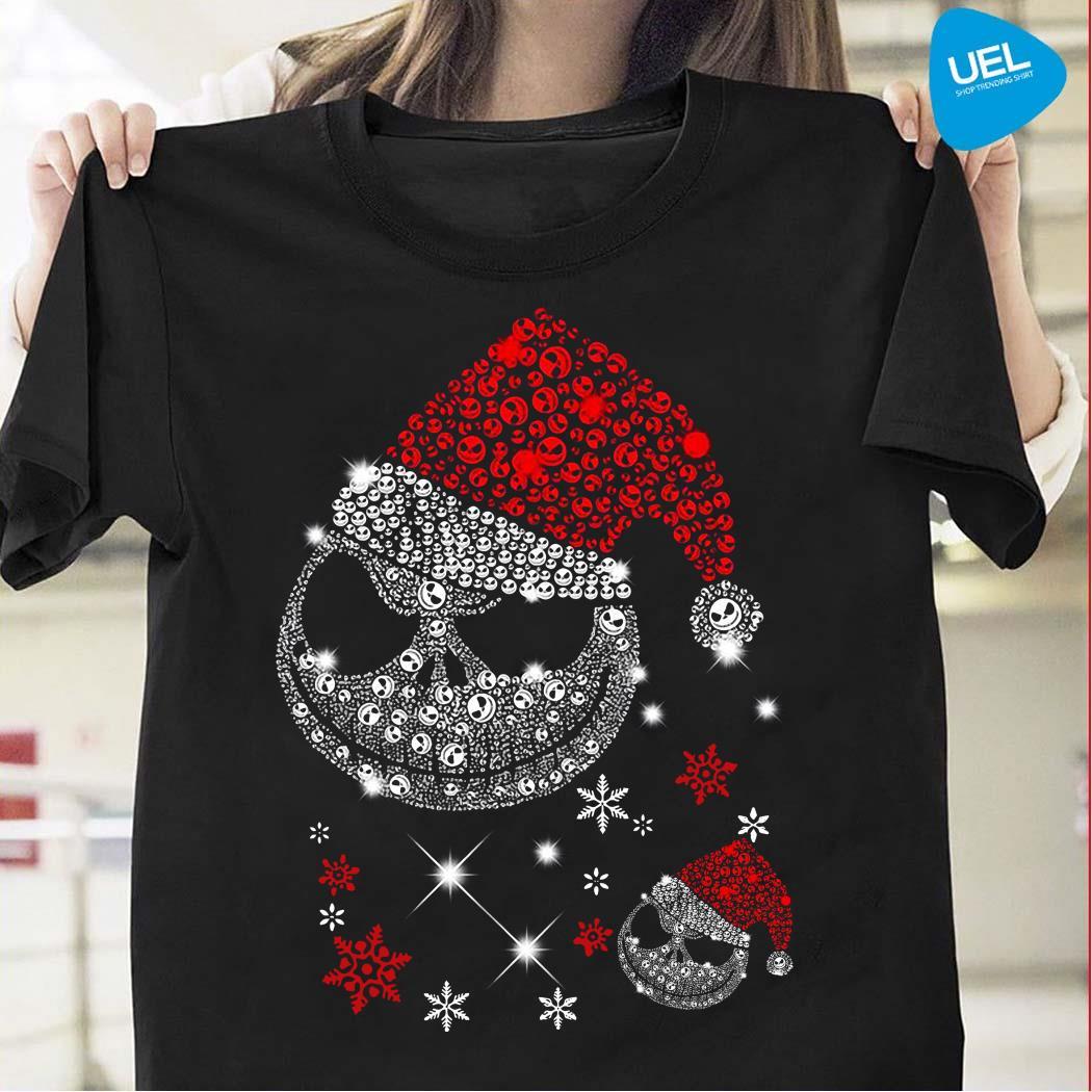 Santa Jack Skellington Diamond Christmas Shirt