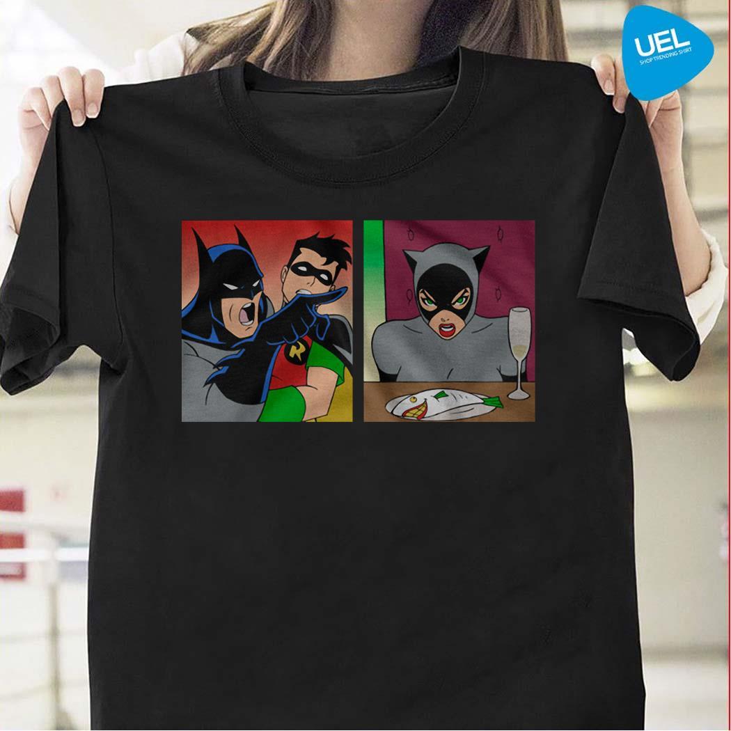 Batman Yelling At Catwoman Shirt