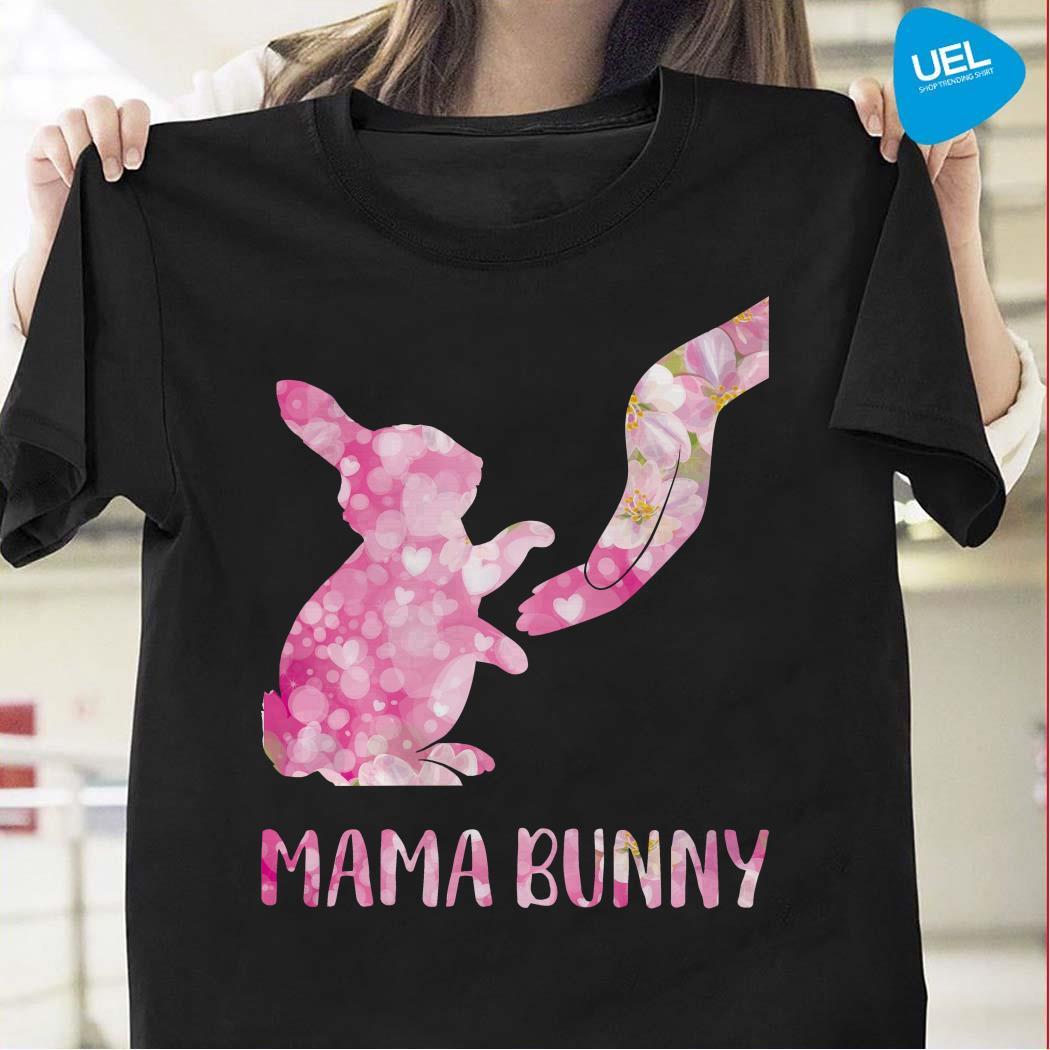 Floral Mama Bunny Shirt