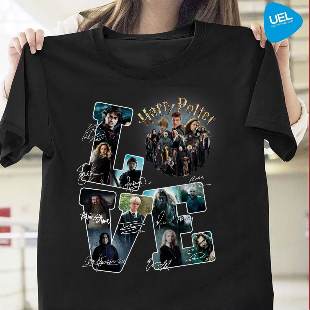 Harry Potter Love Signatures Shirt