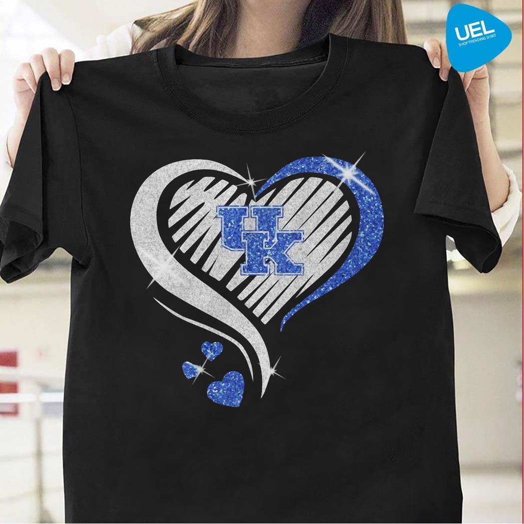 Kentucky Athletics Diamond Heart Shirt
